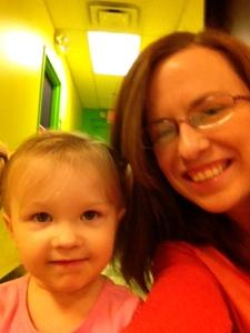 Me & the birthday girl!