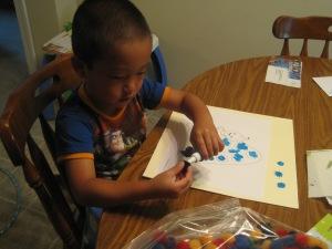 Dots & glueing